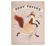 Foxy Tricks. Drawings by Yuri Vasnetsov. Russian book 1968