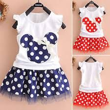 2016 new t shirt +Skirt baby kids suits 2 pcs fashion girls clothing sets minnie children clothes bow tops suit Dresses - FASHION BookFace - Leading Global Online Shopping Site Princess Dress Kids, Princess Outfits, Baby Outfits, Princess Clothes, Princess Birthday, Tutu Outfits, Princess Style, Princess Party, Fashion Kids