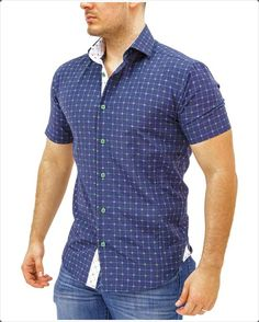 6c1dcfa3caf691 Mens Short Sleeve Shirts  40 Ways to Wear It in Style