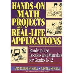 Hands On Math Projects w/ Real-Life Applications - Resource Books & Curriculum - Format - National School Products - Main Store