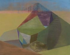 Wonderful abstract paintings of structured spaces by Irish artist Tom Climent. More images below.               Tom Climent's Website