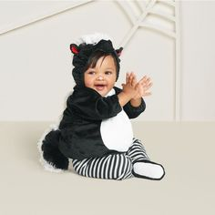 2f183b15a Baby Plush Skunk Vest Halloween Costume - Hyde and Eek! Boutique™
