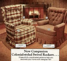 1970's Colonial Style Chairs