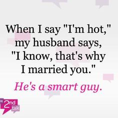 What does your partner say to you when you're having a hot flash? #menopause  http://www.sexyoversixty.com/menopause.html