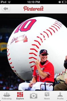 This is a baseball with a baseball player.pin now read later