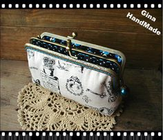 Vintage Perfume iphone case Two-compartment Coin purse / Coin Wallet / Pouch coin purse / Kiss lock frame purse bag-GinaHandmade by GinaHouseDIY on Etsy https://www.etsy.com/listing/155327603/vintage-perfume-iphone-case-two