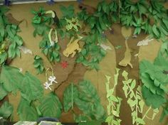 Rainforest Classroom Ideas   classroom ideas / Turn your classroom into a Rainforest for the new ...