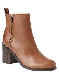 Classic leather boots available from The Gap