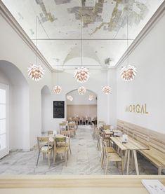 Café Morgal / Interiér / M. Hrdina