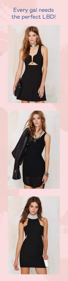 Every gal needs the perfect LBD! Check out all of our favorites @nastygal.