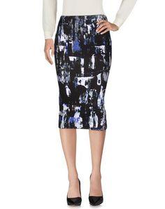 MCQ ALEXANDER MCQUEEN 3/4 Length Skirt. #mcqalexandermcqueen #cloth #dress #top #skirt #pant #coat #jacket #jecket #beachwear #
