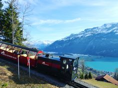 For the second time in 123 years the Brienz Rothorn Railway is also running in wintertime.