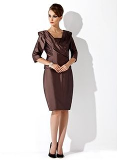 Mother of the Bride Dresses - $144.99 - Sheath/Column Strapless Knee-Length Taffeta Mother of the Bride Dress  http://www.dressfirst.com/Sheath-Column-Strapless-Knee-Length-Taffeta-Mother-Of-The-Bride-Dress-008006168-g6168