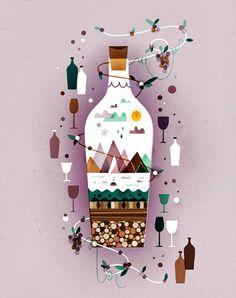Sol Linero: Ilustraciones Descorches Revista