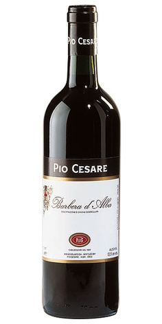 """Pio Cesare Barbera d'Alba, Alba, Italy: """"The Barbera grapes grown in the Barolo area, give full structure, plummy and complex flavor, with spicy and ripe fruit, blackberry aroma and a hint of toasted tobacco. It ages quite well."""" – Winemaker's notes"""