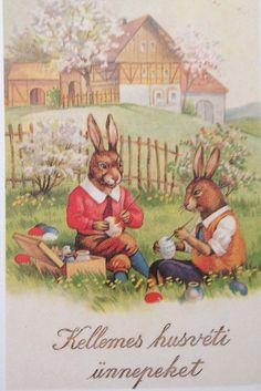 Hungarian Vintage Easter Cards easter_card_066
