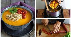 Heißer Sattmacher: Kürbissuppe mit Quinoa und Chorizo