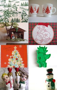 Vintage Christmas by Sugarlove on Etsy--Pinned with TreasuryPin.com