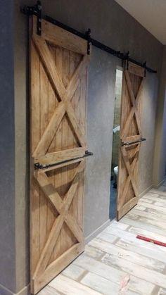 Амбарные и межкомнатные двери из массива дерева в лофт стиле loft Одесса • OLX.ua