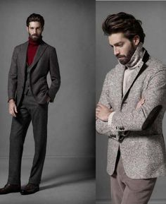 Turtleneck shirt - The Turtleneck shirt is a timeless piece that just completes any look for winter. Read some tips about how to wear it this winter. Mens Turtleneck, Turtle Neck Men, Best Dressed Man, Le Male, Mens Style Guide, Mens Fall, Best Wear, Gentleman Style, Men Looks