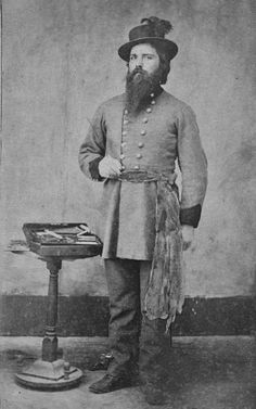 Dr. Walter Thompson Adair (the son of George Washington Adair and Martha Martin-Adair) - Cherokee - circa 1865 {Note: He served in the Confederate Army during the Civil War as a Surgeon for the 1st Cherokee Mounted Rifle Regiment.}