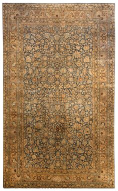 Persian rugs: Persian rug (antique) rug in gold color, oriental rug, oriental pattern for modern, elegant interior decor, rug in living room #rug #persianrug