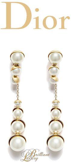 # Brilliant Luxury * Dior Earrings 2015