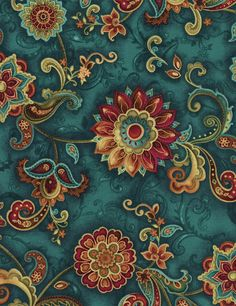 Floral Medallions - Our Fabrics | TIMELESS TREASURES