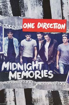 The handsome lads from One Direction want to make some sweet midnight memories with you! Hurry up and get this great poster! Fully licensed. Ships fast. 22x34 inches. Need Poster Mounts..? td13303