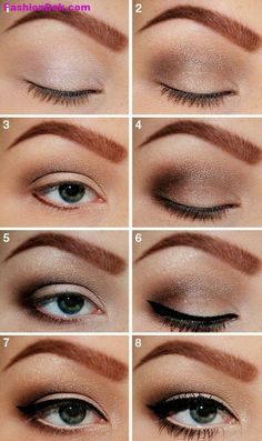 Soft-Eye-Makeup-For-Evening.jpg (445×750)