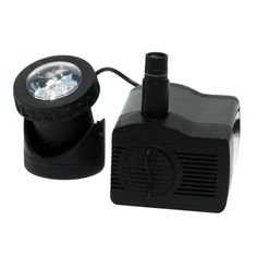 smartpond 170 to 300 GPH Low Water Shut-Off Fountain Pump with LED