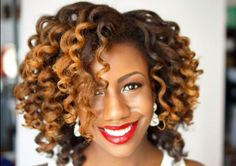 Curling Wand Curls - Donedo - http://www.blackhairinformation.com/community/hairstyle-gallery/natural-hairstyles/curling-wand-curls-donedo/ #curls #curlingwand #naturalhair