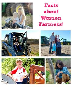 Some #funfacts about female farmers in honor of #agweek2014