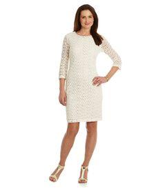 Gibson & Latimer Lace Sheath Dress | Dillards.com
