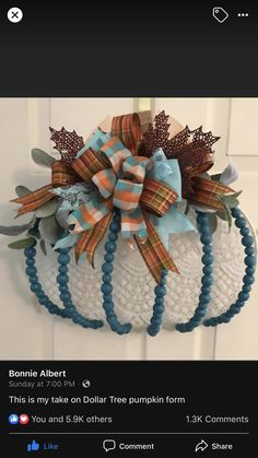 Thanksgiving Crafts, Fall Crafts, Halloween Crafts, Holiday Crafts, Fall Halloween, Diy Crafts, Burlap Crafts, Wreath Crafts, Outside Fall Decorations