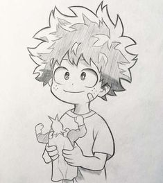 """Anime and Manga drawing ✒️ on I nstagram: """"New sketch of Midoriya! 🤩 As in the survey the majority voted to upload the sketches of my drawings I will try to do more often and see a…"""" Anime Drawings Sketches, Anime Sketch, Manga Drawing, Manga Art, Cute Drawings, Manga Anime, Anime Art, Anime To Draw, Sketch Drawing"""