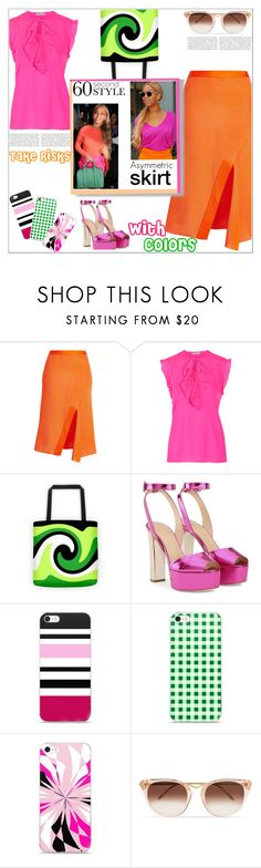 """""""Take Risks With Colors"""" by atelier-briella ❤ liked on Polyvore featuring Victoria Beckham, Emilio Pucci, Giuseppe Zanotti and Thierry Lasry"""