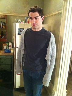 Sam Witwer in Sally's Sweater from Being Human syfy! Haha, I think he's better in it than Meaghan Rath! XD