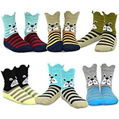 PAW Patrol Boys Dog Faces 3-Pack Crew Socks