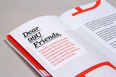 branding  99u conference booklet