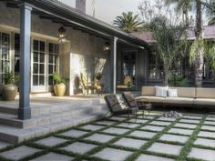 Transitional Outdoors from Lewin Wertheimer on HGTV