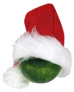 Welcome to Whoville - Glass Ornament Grinch Hat. Project sheet can be found here: http://www.craftsdirect.com/default.aspx?PageID=311&ProjectID;=586