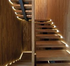 Stair accent lighting