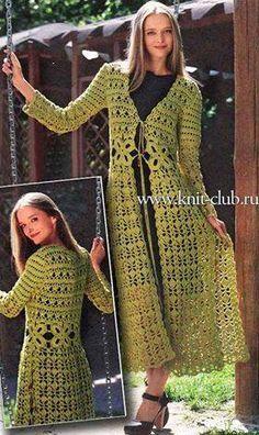 Patrón para tejer vestido a crochet en hilo de color verde. Ver más patrones   Ver más vestidos Al final de las imágenes esta el botón para imprimir este patrón en PDF Patrón #1467: Vestido a Crochet. Esquema de vestido (adsbygoogle = window.adsbygoogle    []).push({});