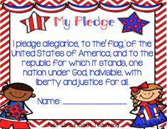 Just Wild About Teaching: United We Stand - A Patriotic Craftivity! Check out some great writing printables for September and a very cute craft! Kindergarten Social Studies, Teaching Kindergarten, Teaching Jobs, Teaching Ideas, Preschool Ideas, Patriotic Symbols, Pre K Activities, American Symbols, United We Stand