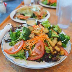 Tofu & Broccoli Salad at Bouldin Creek Cafe