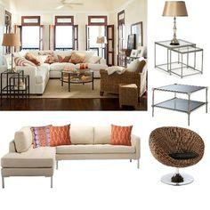 The contemporary beach house by Panache Design at ProjectDecor.com