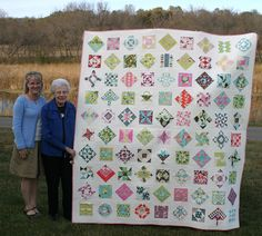 """I love this """"Farmer's Wife"""" quilt!"""