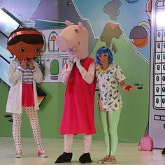 Peppa Pig, la Dra. Juguetes y nuestra animadora Kitty 8831-3232