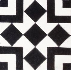 Balboa B&W Encaustic Cement Tiles. http://www.terrazzo-tiles.co.uk/balboa-black-white-encaustic-cement-tile.html
